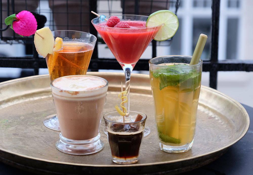 Enkel drink med rom