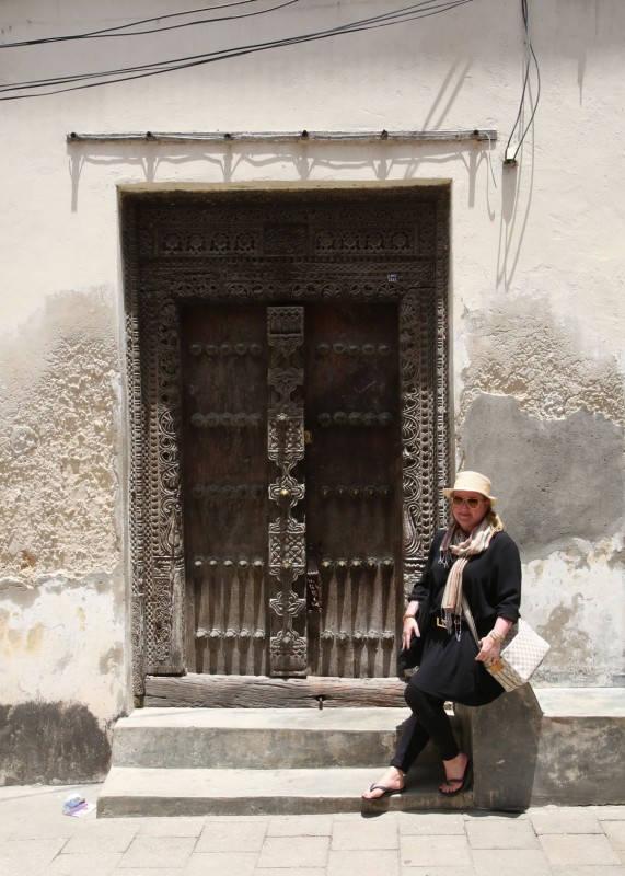 De karakteristiske dørene på Zanzibar.