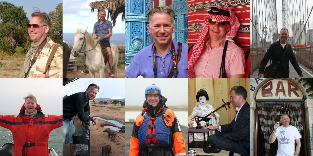 Somreisejournalist har Erik vært mange steder i verden allerede.