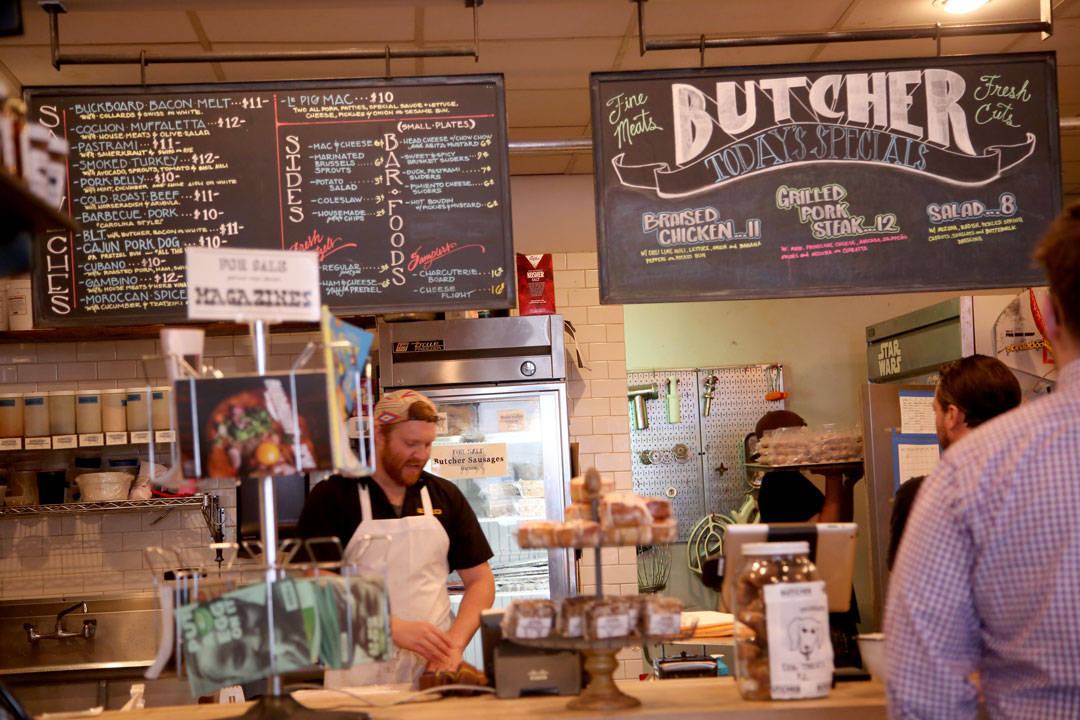 Cochon Butcher i New Orleans.
