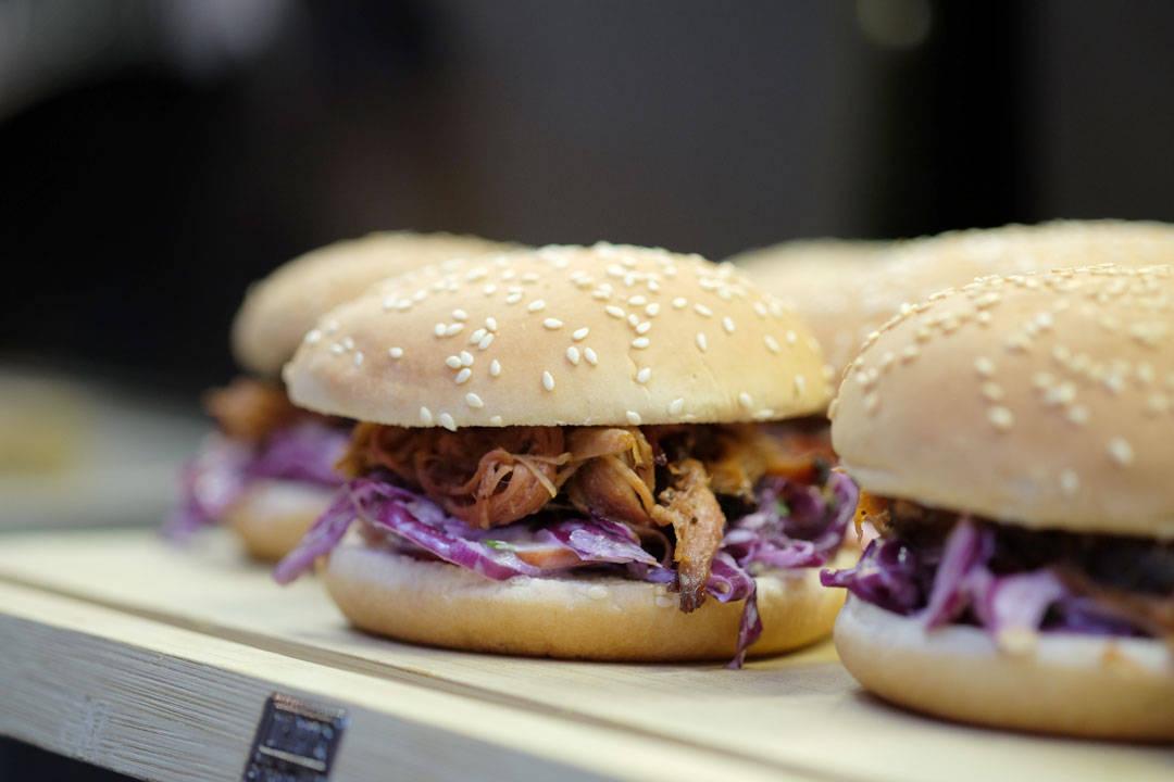 Pulled Pork slider. Fremdeles fryktelig godt og fremdeles populært så det holder.