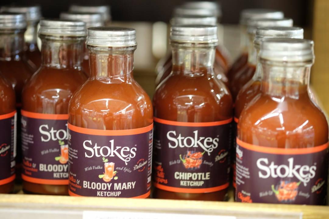 Stokes. Fantastiske ketchuper.