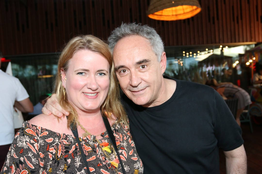 Jeg og Ferran Adrià.