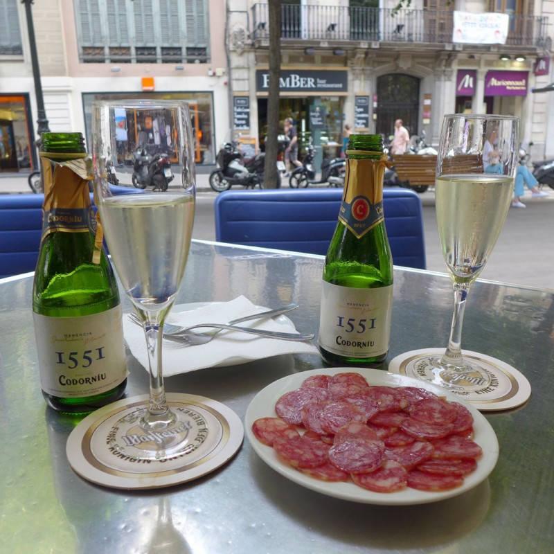 Aldri en tur til Barcelona uten cafa og fuet.