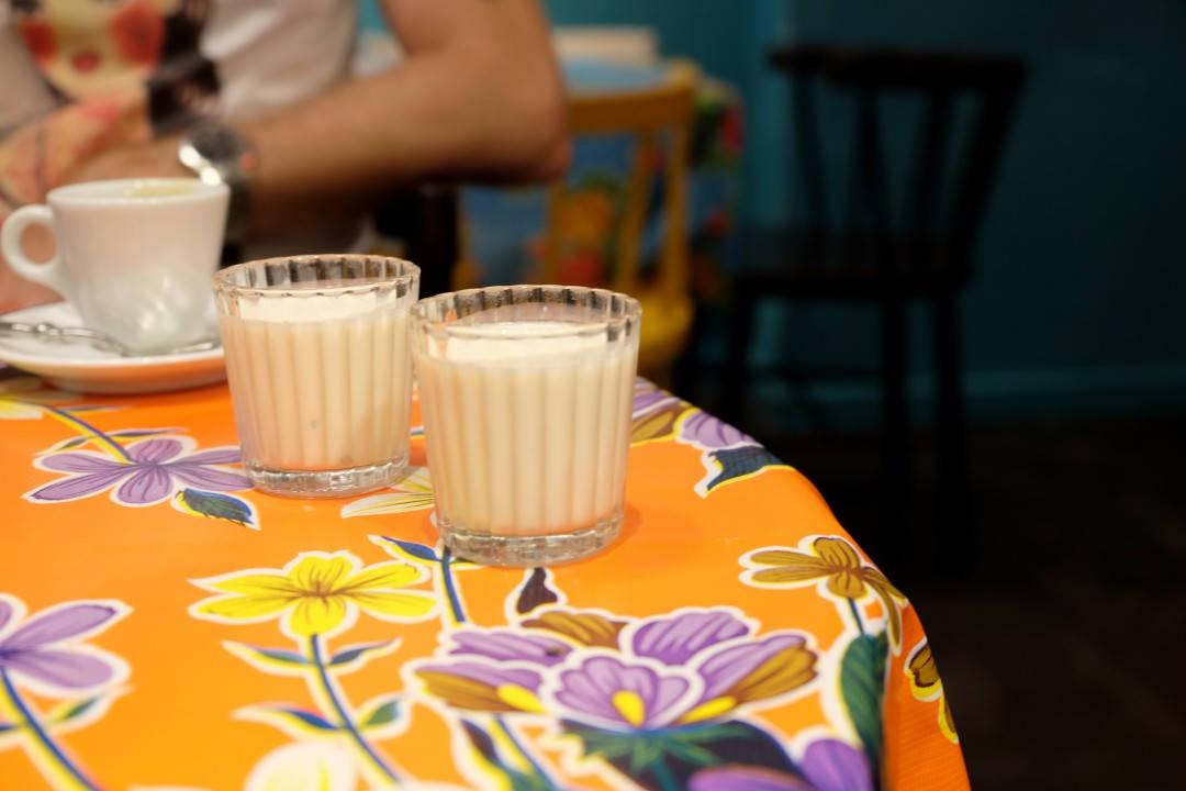 Til kaffen fikk vi denne hikkasen: Tres leches med tequila. Viva Mexico!