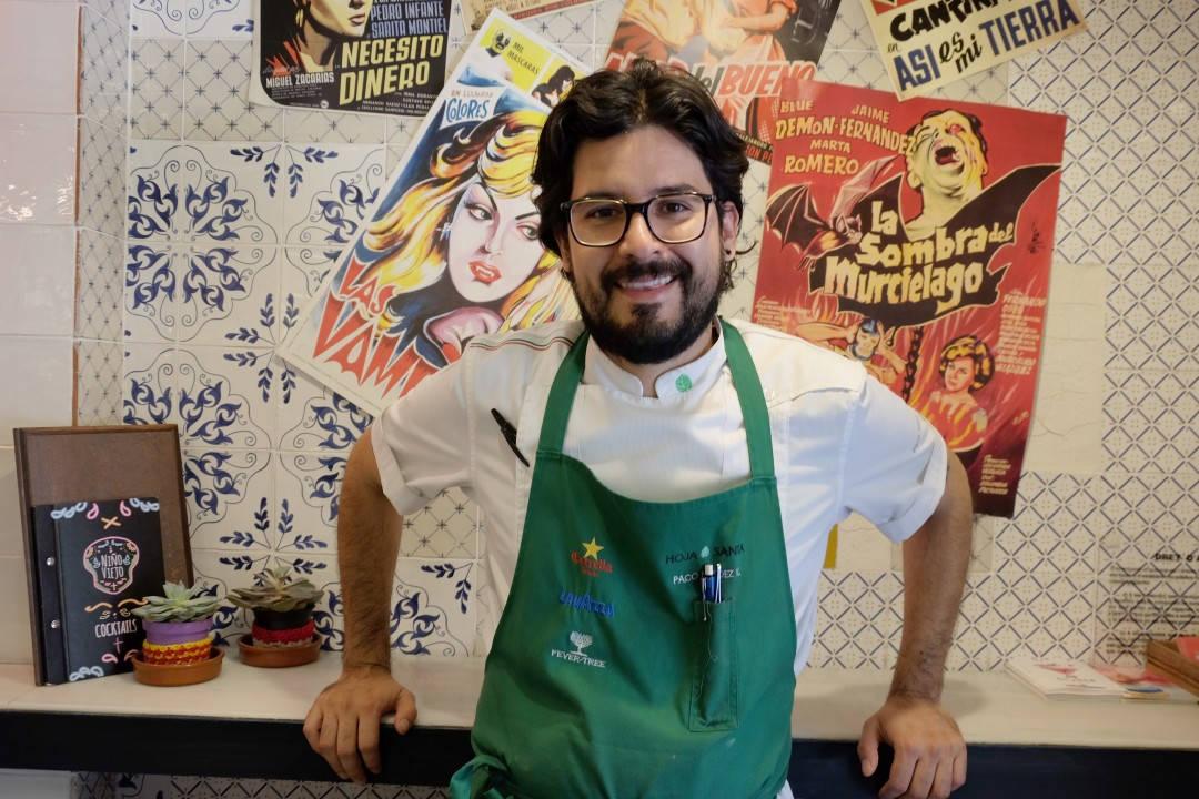 Kjøkkensjef og parter hos Nino Viejo, Paco Mendez.
