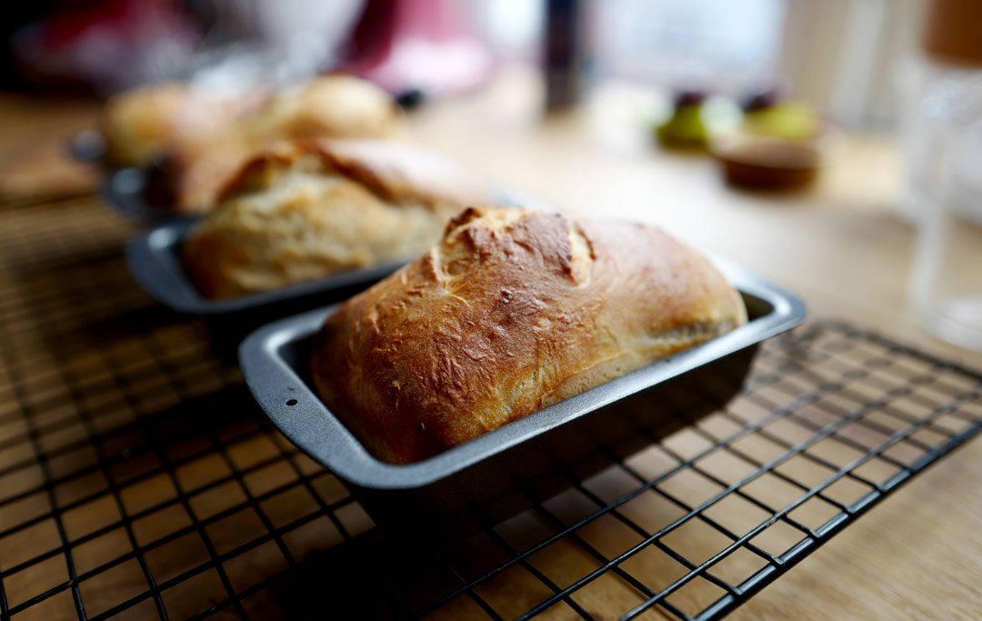 Skal si disse brødene ble helt perfekt.