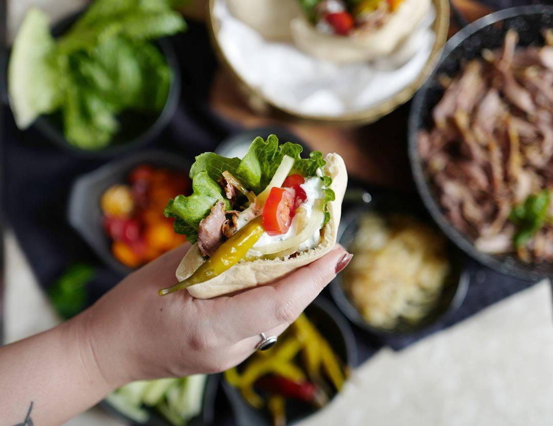 L1120150 1080x832 - Påskemeny: Vafler til forrett og kebab til hovedrett