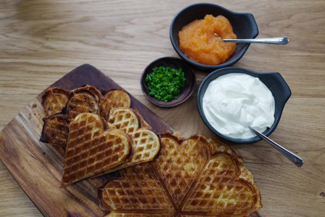 L1120171 1080x720 - Påskemeny: Vafler til forrett og kebab til hovedrett